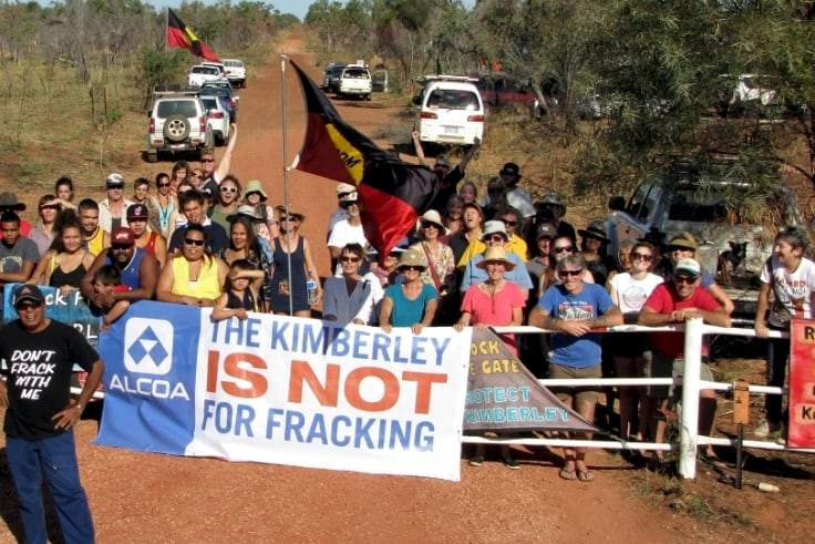 Some West Australian residents are opposed to Buru Energy's Kimberly fracking operations