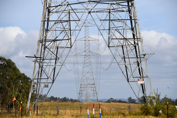 The cost of poles and wires used to deliver electricity makes up 48 per cent of an average electricity bill.