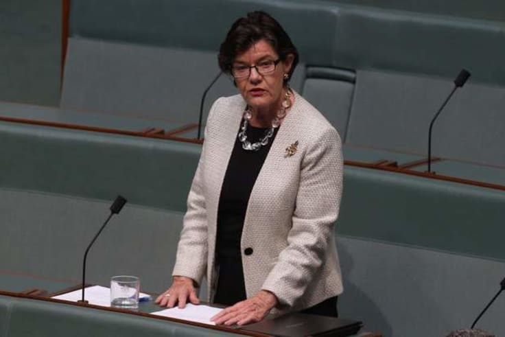 No sex please, we're politicians: independent MP Cathy McGowan wants higher standards in Parliament House.