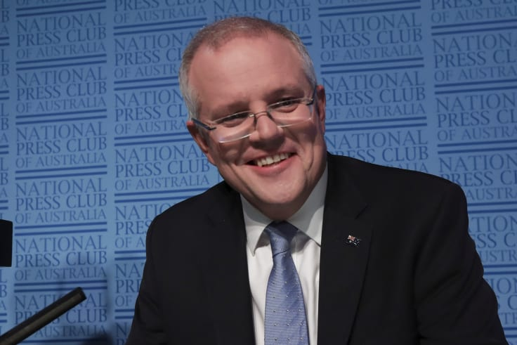 Treasurer Scott Morrison has an ambitious tax plan with three stages over seven years.