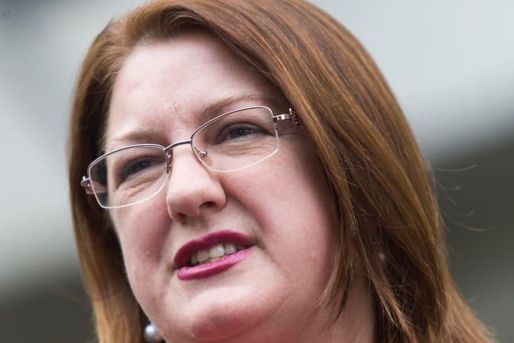 Victorian Industrial Relations minister Natalie Hutchins did not rule out making 'wage theft' a crime.