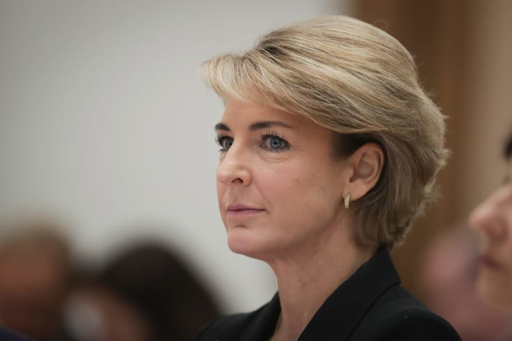 Jobs Minister Michaelia Cash during an estimates hearing.