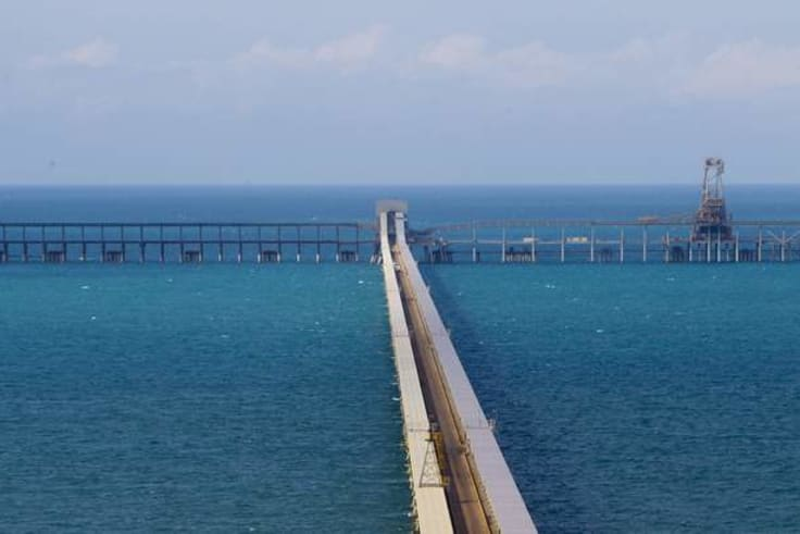 Adani's application for a public loan to fund a rail line from the mine to its Abbot Point coal terminal was thwarted by the Queensland Labor government.