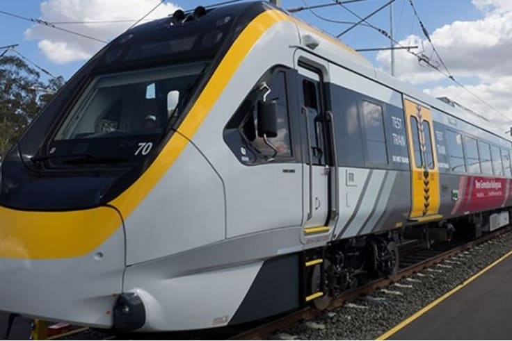 Air conditioning has been boosted dropping temperatures by two degrees in Queensland's new trains.