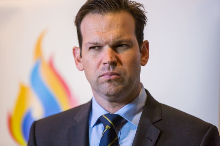 Resources Minister Matt Canavan.