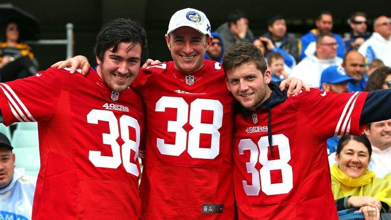 San Francisco 49ers Recruit Jarryd Hayne S Jersey The Most Popular On Nfl Online Store