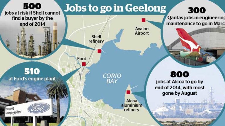 Geelong Optimistic About Jobs Despite Factory Closures