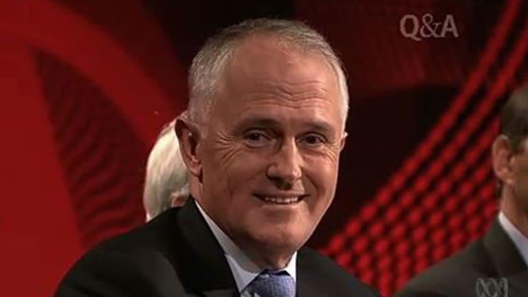 Embarrassing blunder: Coalition communications spokesman Malcolm Turnbull.