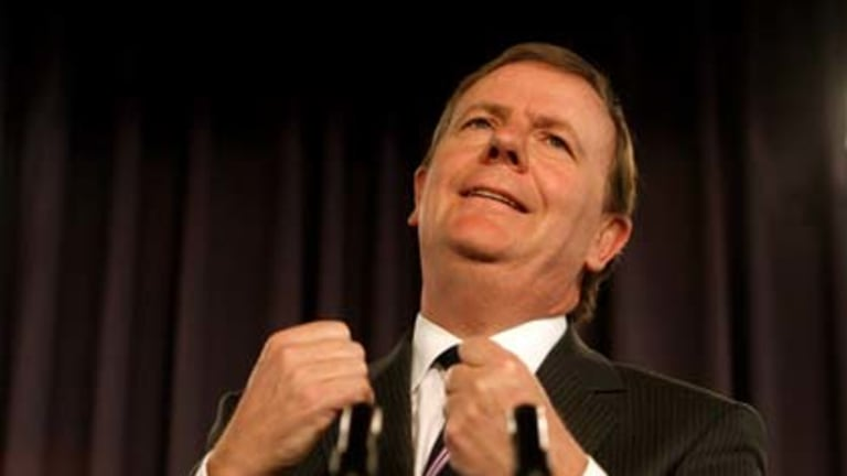 Peter Costello ... calling it a day.