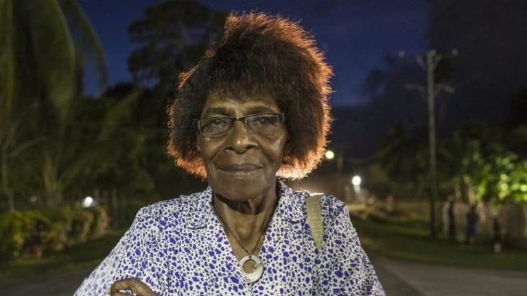 Campaigner: Sophie Mangai is a strong advocate for women's rights in PNG.