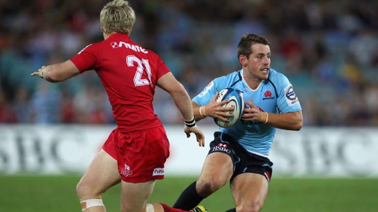 First choice … the Waratahs new starting fullback Bernard Foley plans to put his Sevens experience to use against the Rebels tomorrow night.