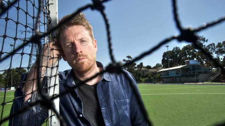Gutsy: Victorian hockey player Gus Johnston has outed himself in a 12-minute YouTube video.