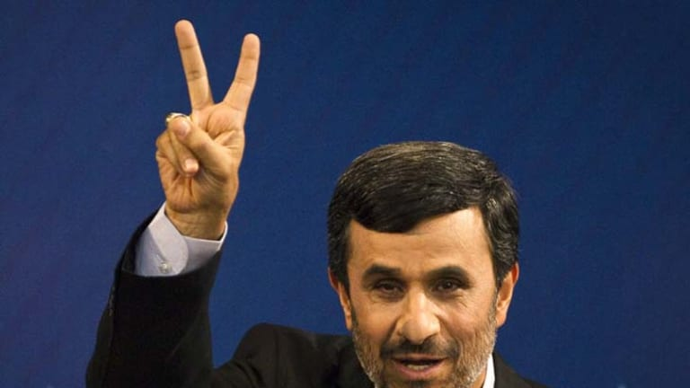 Iranian President Mahmoud Ahmadinejad ... has admitted to a rift.