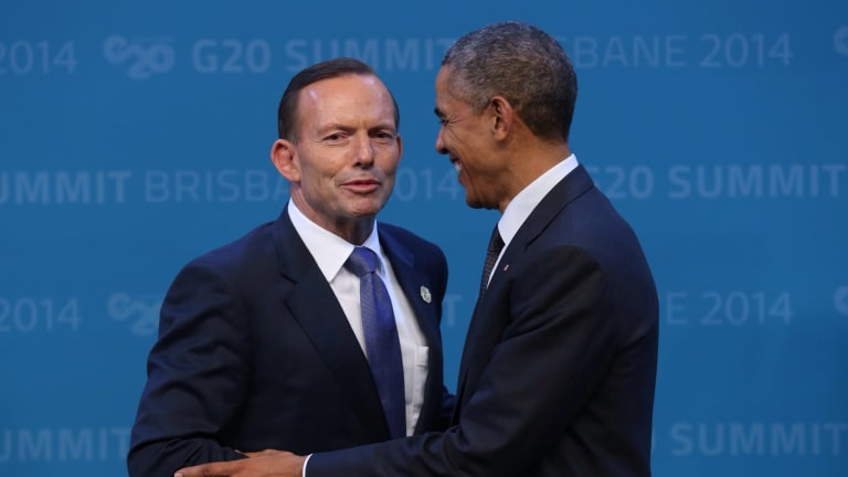 One powerful factor has been the collapse of good will between the Obama administration and the Abbott government.