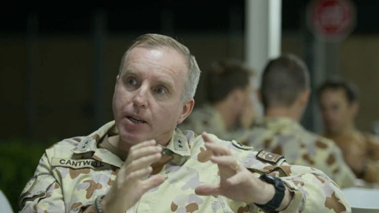 """""""... he's our guy and we should work with him, """" Major-General John Cantwell says of the coalition's ties to a controversial Afghan warlord."""