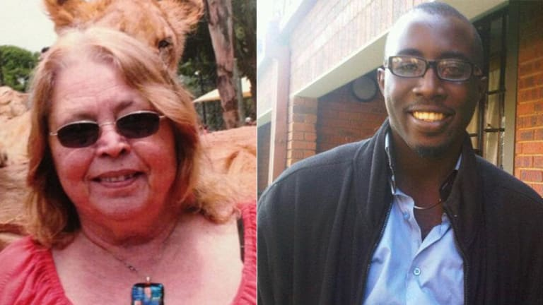 Jette Jacobs and Jesse Orowo Omokoh.