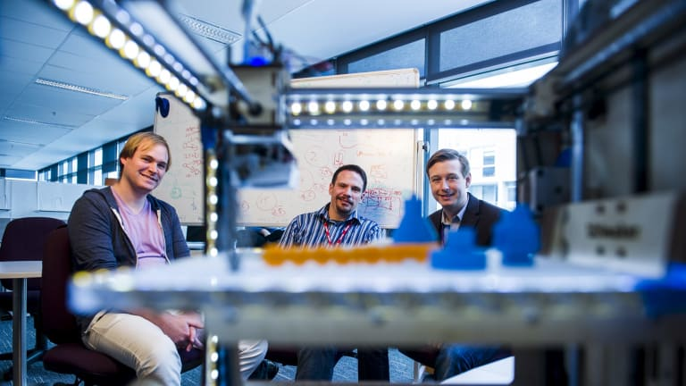 The technology start-up founders say designers can benefit from 3D printing.