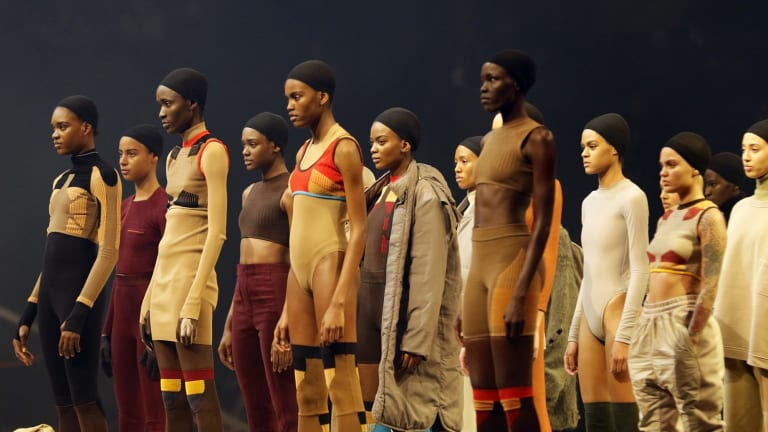 Groundhog Day: Similar designs at February's NYFW show.