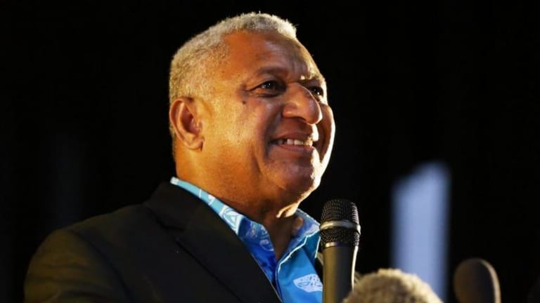 Incoming Prime Minister Frank Bainimarama put himself before the citizens of Fiji and gave them the opportunity to decide the future of Fiji.