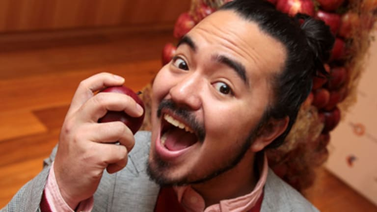 Series two winner ... Adam Liaw.