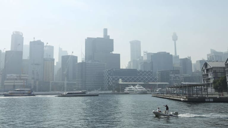 The haze should clear up as it gets warmer, according to the RFS.