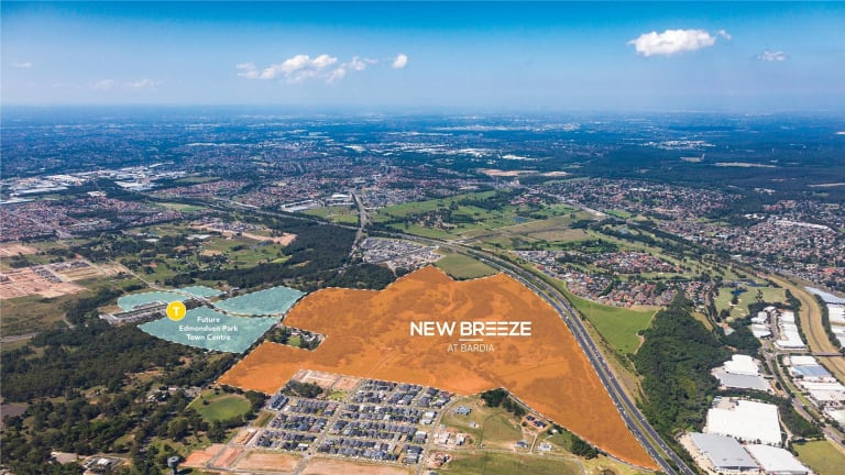 Dahua starts its $1 billion master-planned estate of New Breeze.
