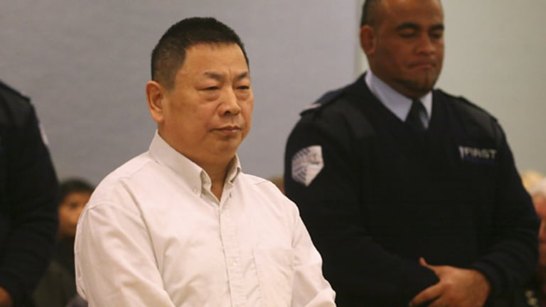 Nai Yin Xue during his trial for murder.