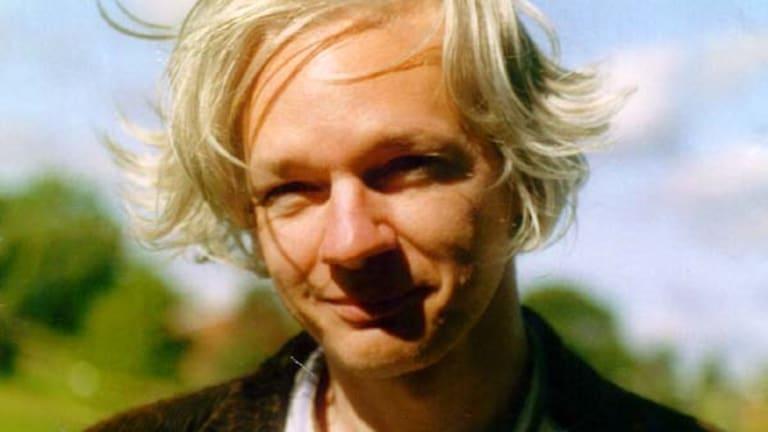 Australian-born Julian Assange