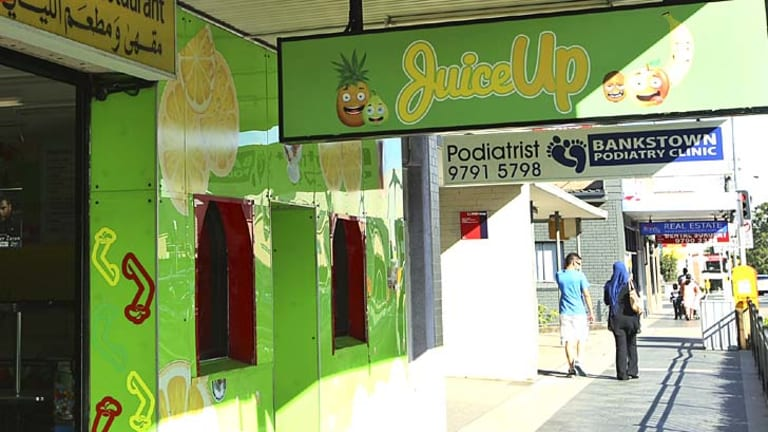 Sold: The former Juicylicious shop remains a juice bar but with a new name.