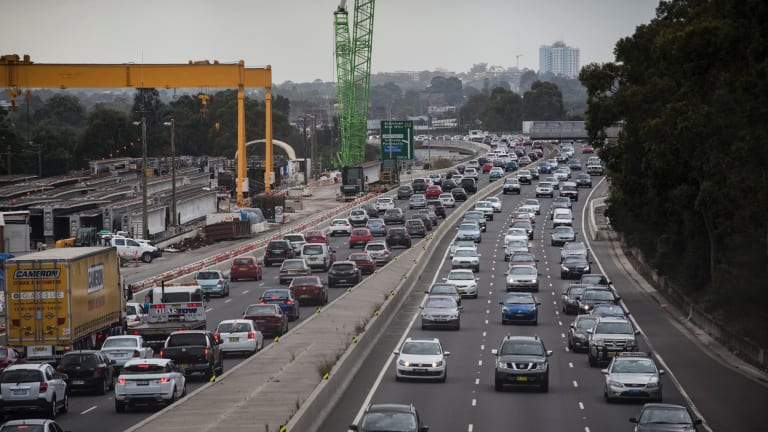 Tolls will be reintroduced on Sydney's M4 motorway.