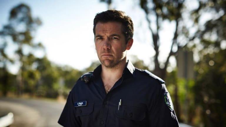 Patrick Brammall plays local policeman James Hayes in <i>Glitch</i>.