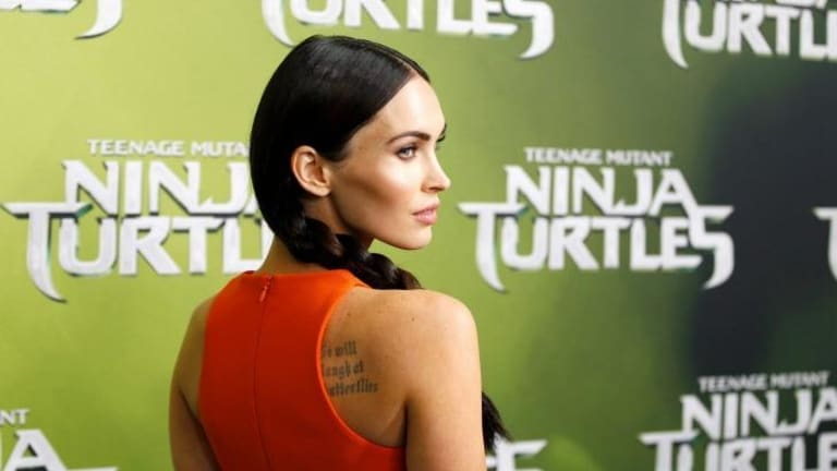 Megan Fox in Australia for the launch of <i>Teenage Mutant Ninja Turtles</i>.