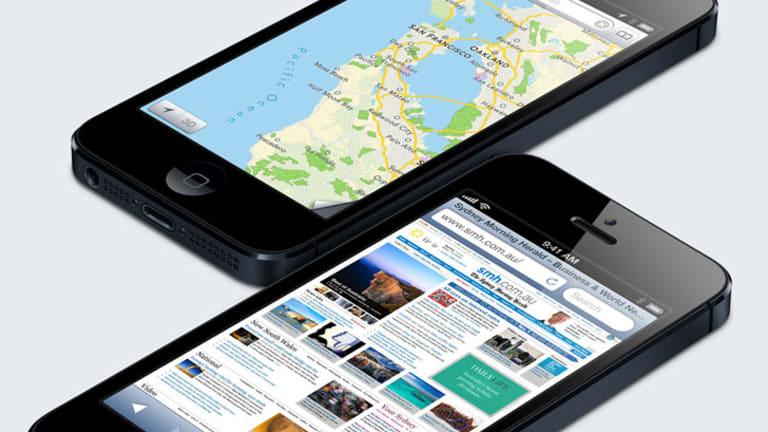 Apple's iPhone 5.