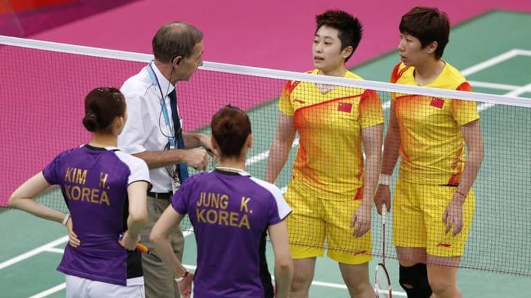 Controversy ... Chinese pair Yu Yang and Wang Xiaoli were disqualified along with teams from South Korea and Indonesia for playing to lose matches in order to ensure games against favourable opposition in later rounds.