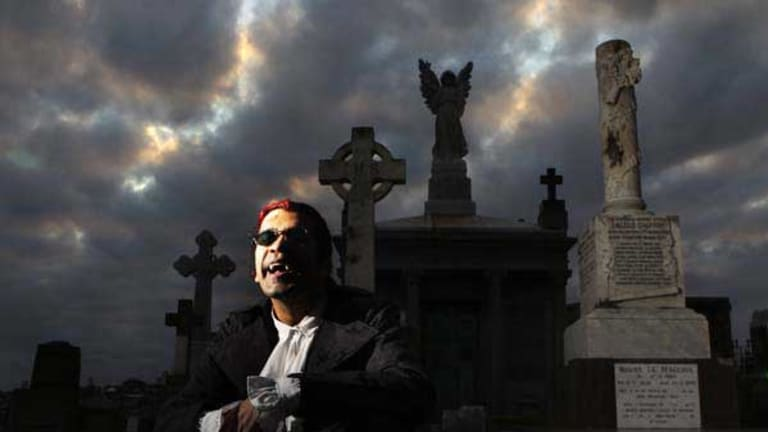 Morpheus says many Sydney vampires have moved to Melbourne.
