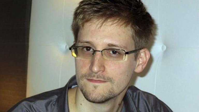 Accused: Edward Snowden.
