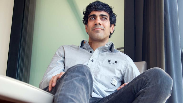 Yelp co-founder Jeremy Stoppelman in Sydney this week  for the launch of the Australian version of the popular review site. Photo: Nate Cochrane