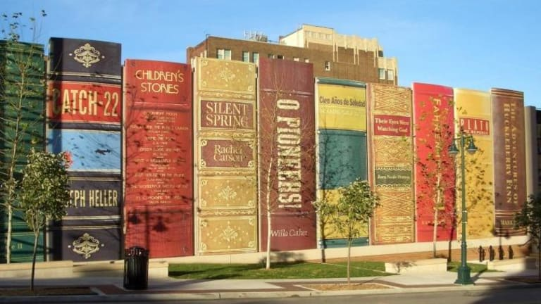 Kansas City Central library wears its heart on its sleeve.