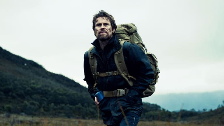 Willem Dafoe in a scene from <I>The Hunter</i>, which has topped the AACTA nominations.