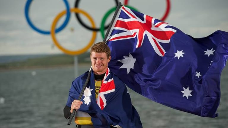 Sailing has been one sport where Australia has performed well against traditional rivals at the London Olympics. Pictured is gold-medal winning Laser sailor Tom Slingsby.