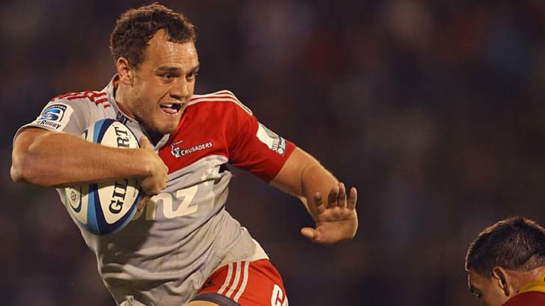 Israel Dagg of the Crusaders is out for the remainder of the Super Rugby season.
