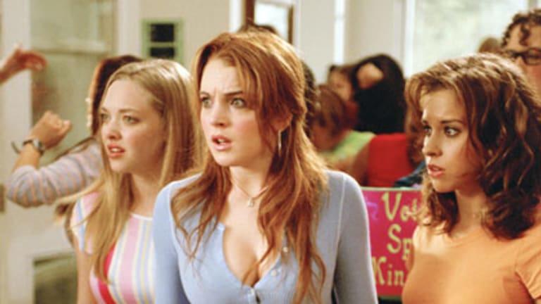 Frenemies forever ... Lindsay Lohan stars in Mean Girls.
