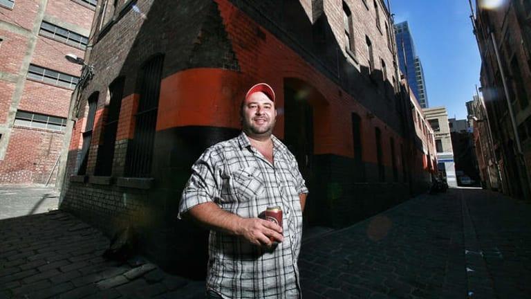 Bar owner Jerome Borazio.
