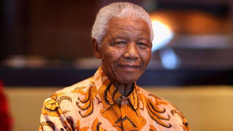 A tribute: Nelson Mandela.