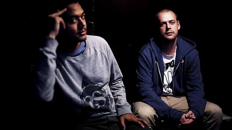 Quiet achievers: Hip-hop duo Horrorshow, Adit (left) and Solo, traverse complex sonic and lyrical landscapes.