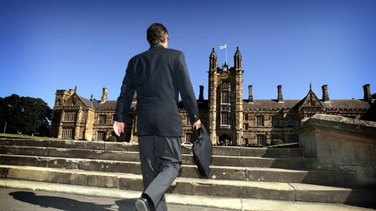 Considering its options: Sydney Uni may divest itself of its $900,000 holding in Whitehaven.