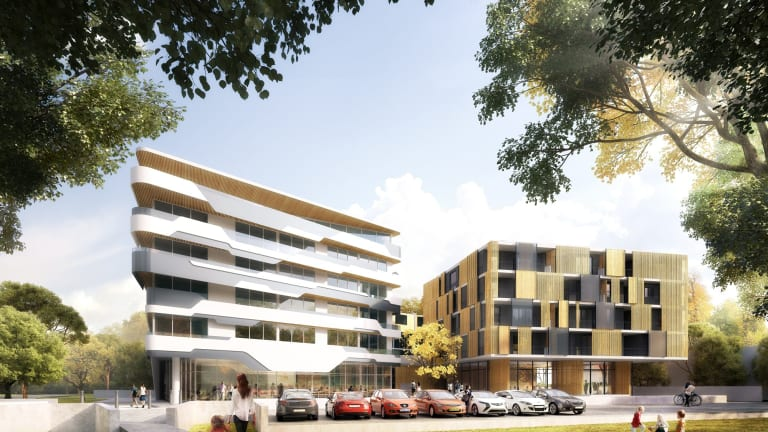 An artist's impression of the $19.75 million development planned for 39 Braybrooke Street, Bruce.