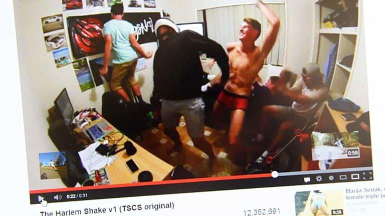 Viral ... the Harlem Shake.