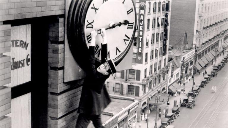 Hanging around: Harold Lloyd in Safety Last!