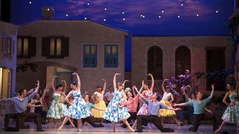 The West Australian Ballet performing <i>La Fille mal gardee</i>.